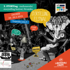 2nd STORYing – a three day international storytelling festival