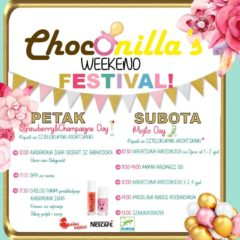 CHOCONILLA'S BABY BOUTIQUE: WEEKEND FESTIVAL ZA 2. ROĆKAS!